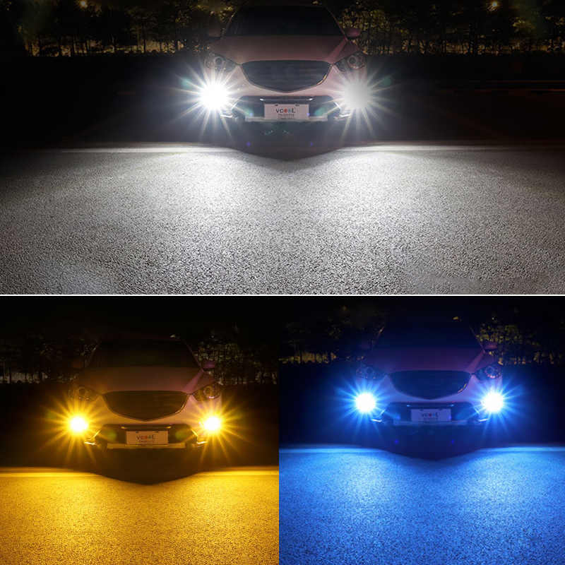 1X Araba led H8 H11 9006 h4 h7 1156 1157 t20 7440 7443 5630 33SMD Sis lamba ışığı Ampul Dönen Park ampul 12V