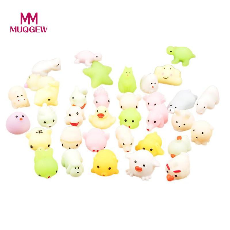 MUQGEW Cute Squeeze Healing Fun Kids Kawaii Toy Stress Reliever Decor magic track squishy gadgets cool Mochi Squishy Cat