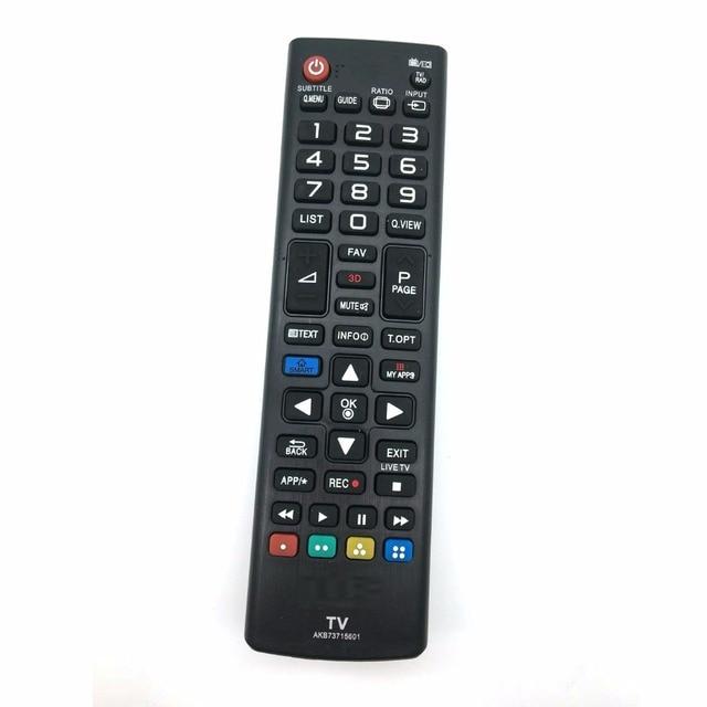 Nouveau remplacement pour LG TV télécommande AKB73715603 42LN5400 47LN5400 50LN5400 50PN6500 32LN5400 39LN5400 LCD LED HDTV 3D TV