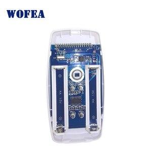 Image 2 - Wofea wireless PIR sensore a infrarossi motion detector 1527 Tipo 3V di alimentazione per la casa di allarme di sicurezza 433mhz