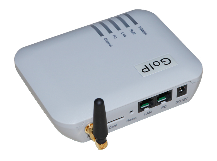 GOIP 1 chip GSM Gateway (cambio IMEI, 1 tarjeta SIM, SIP y H.323, VPN PPTP). SMS GSM VoIP Gateway-Promoción