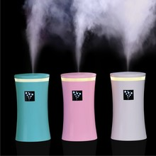 New Candy Colors Small-OS Air Humidifier Cup Shape LED Light Car/Household Diffuser Mist Maker Fogger