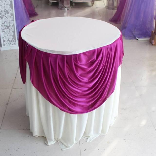 Round Table Skirts Decorator.Round Table Skirts Decorator Deoverslag