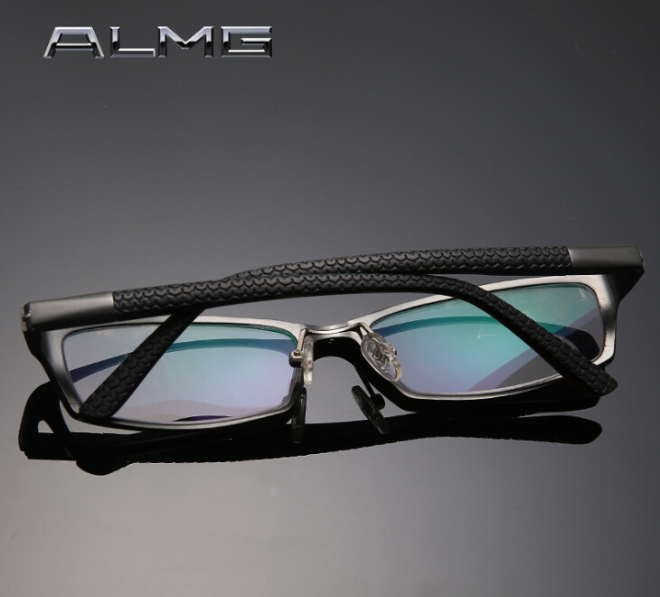 2015 Fashion Business <font><b>series</b></font> Men lightEyeglasses Frames aluminum magnesium Men Reading <font><b>Glasses</b></font> Frames Optical Eyewear Frames 181