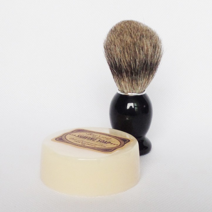 shaving brush soap