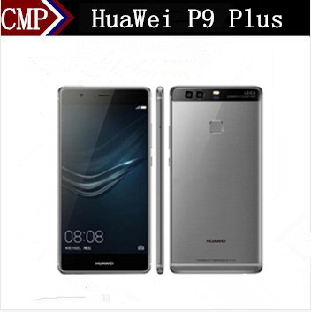 "Original HuaWei P9 Plus 4G LTE Mobile Phone Kirin 955 Android 6.0 5.5"" FHD 4GB RAM 128GB ROM 12.0MP Fingerprint Force Touch"