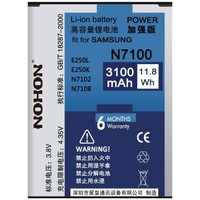 EB595675LU Nohon New Battery For Samsung Galaxy Note2 Note 2 N7100 N7105 E250S E250L E250K Real