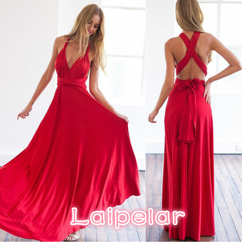 15 Ways Bandage Women Summer Dresses 2018 Sexy Backless Long Beach Dess Elegant Evening Party Dress Female Maxi vestidos