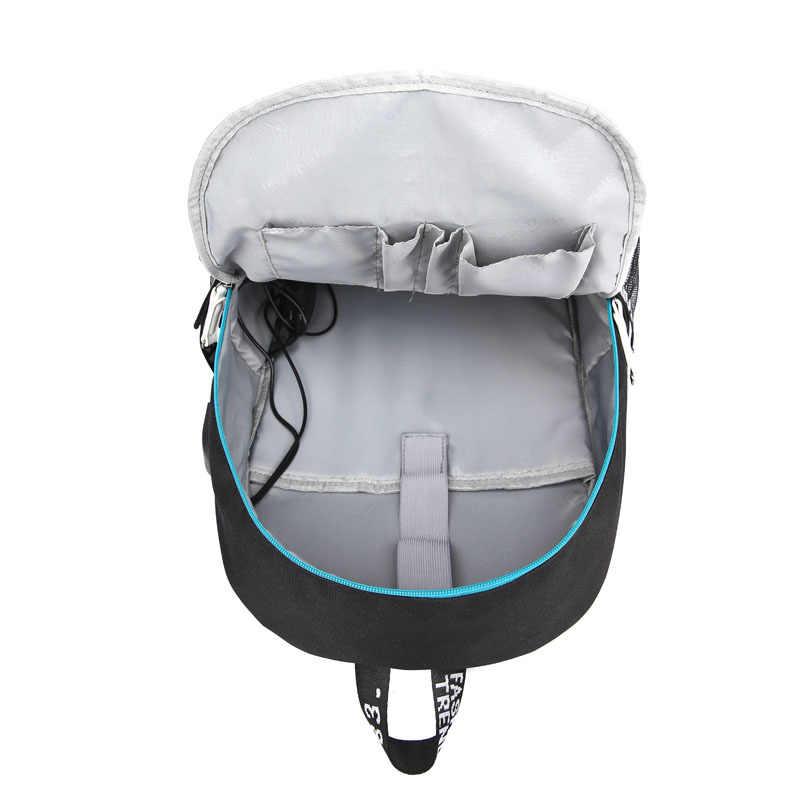 Рик и Морти рюкзак USB зарядка интерфейс Повседневная Сумка подростковая школьная дорожная сумка для ноутбука