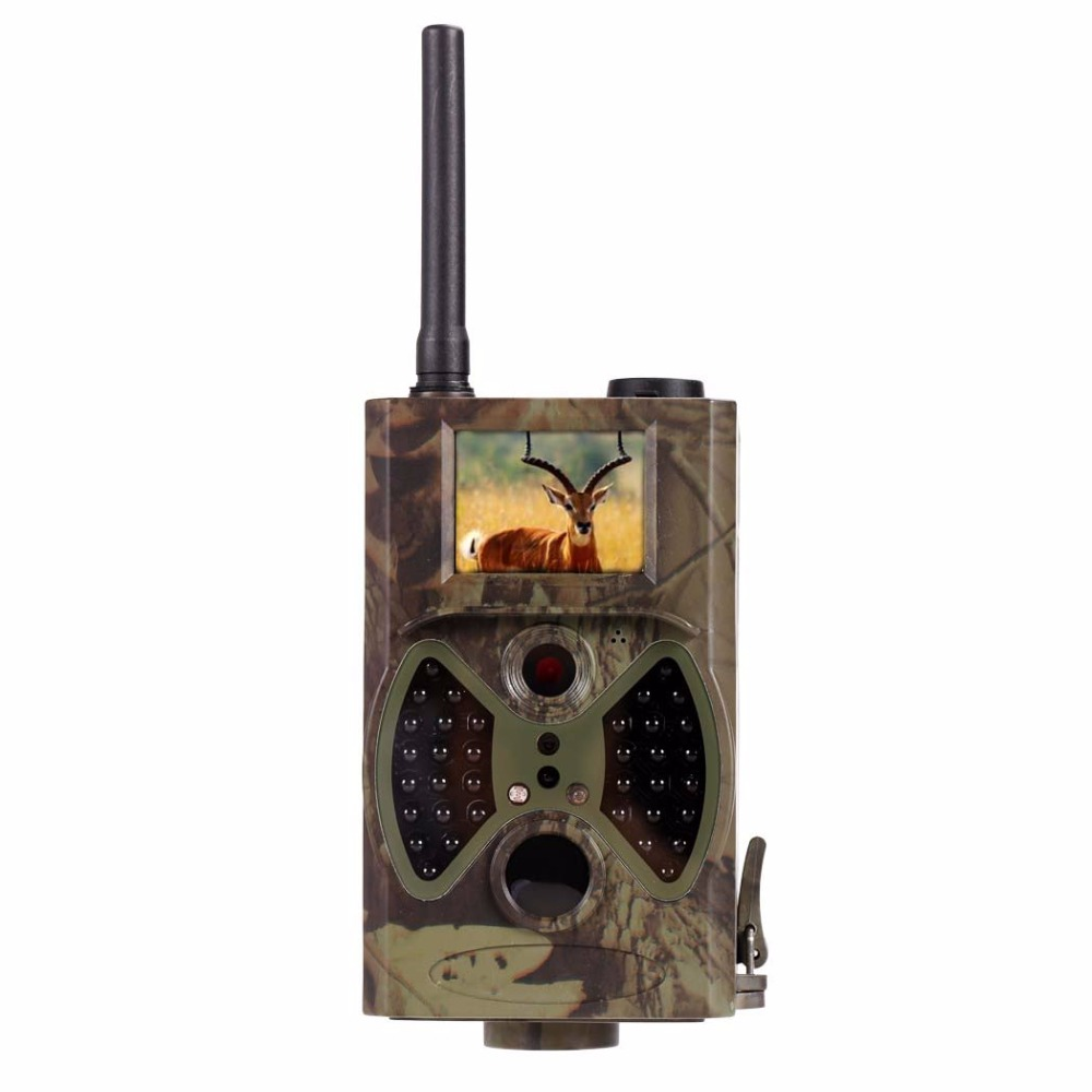 Scouting font b hunting b font camera HC300M HD GPRS MMS Digital 940NM Infrared Trail Camera