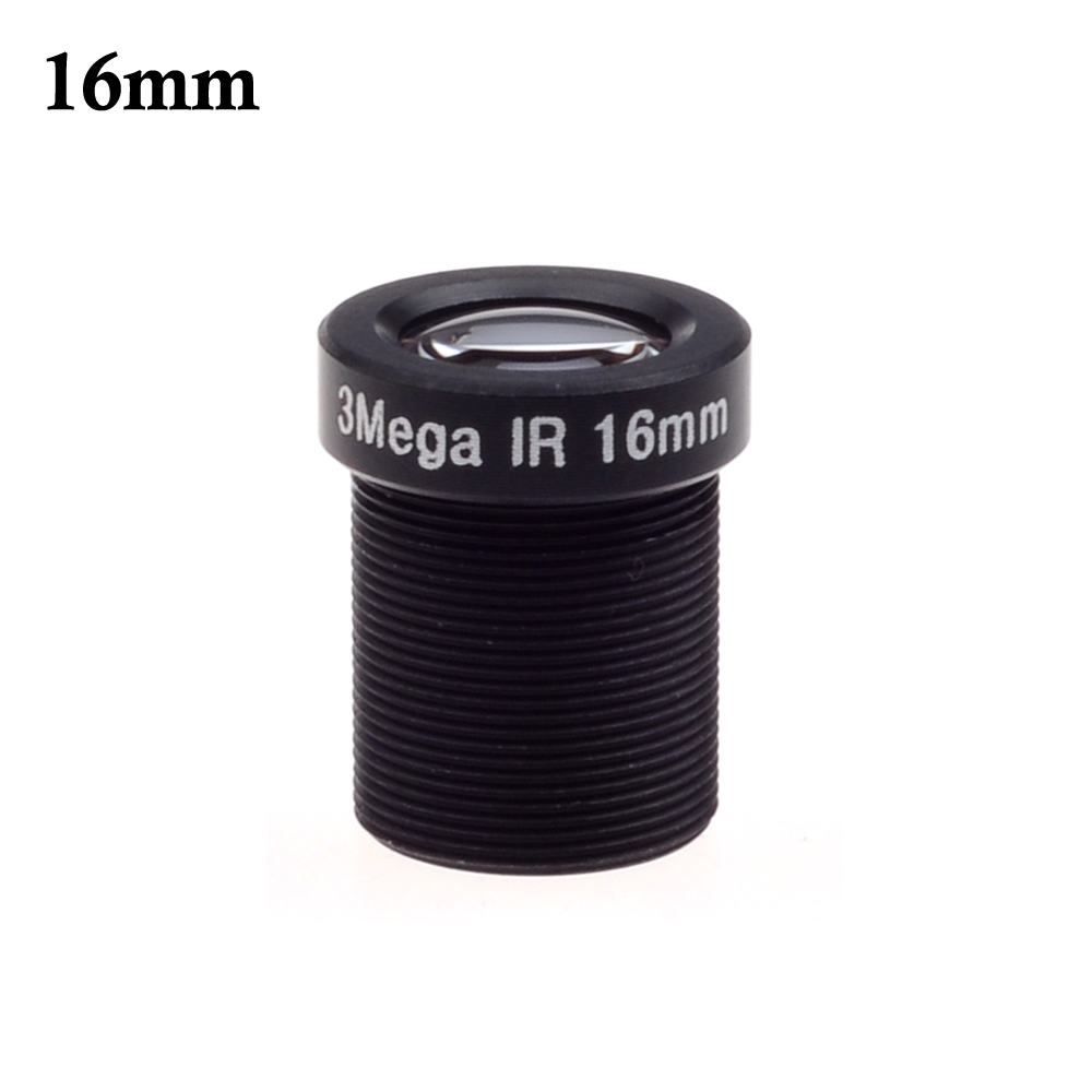 Wholesale CCTV lens M12*0.5,16mm 20 degrees 3.0megapixel HD IR MTV Mount,Fixed Iris for cctv camera ip camera