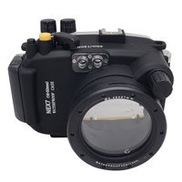 Mcoplus 40M 130ft Underwater Housing Waterproof Diving Camera Case for Sony NEX7 NEX 7 Fit for 16 50mm Camera lens