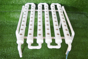 Image 3 - 54 Holes Hydroponic Piping Site Grow Kit Deep Water Culture Planting Box Gardening System Nursery Pot Hydroponic Rack 220V