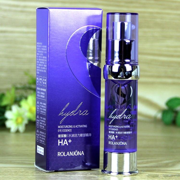 ROLANJONA Hyaluronic Acid HA Eye Cream Elastic Eye Gel Eyes Cream Moisturizing Anti-Aging Eye bags wrinkles brighten 20ml A6606