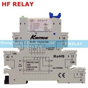 Image 5 - HF relay HF41F 24 ZS HF41F 12 ZS HF41F 5 ZS (555) 6A 1CO HF41F 5V 12V 24V Wafer relay new and original