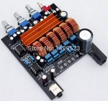 TPA3116 amplifier board 24VDC 2.1 channel class D NE5532 2*50W+100W Subwoofer better TPA3123 LM1875