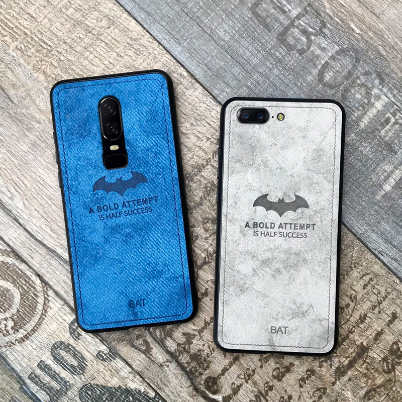 the latest 5622c 7a8ea US $2.88 20% OFF|original 3D relief deer cloth shockproof phone case on for  oneplus 6 5t 5 6t retro leather tpu back cover coque one plus 6 5t-in ...