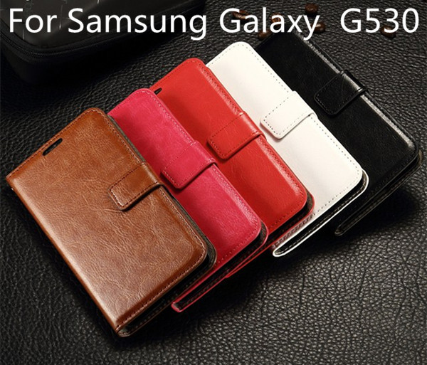 High quality Leather wallet Case Cover for Samsung Galaxy Grand Prime G530H G530 G5308W phone case