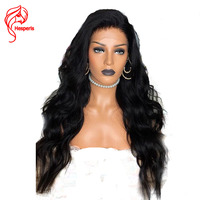 Hesperis 150 Density 13x6 Deep Part Lace Front Human Hair Wigs For Woman Brazilian Remy Lace Front Wigs Pre Plucked Wave Wigs