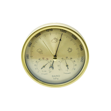 3 in 1 Weather forecast barometer temperature humidity home indoor outdoor wall hanging air weather instrument Mechanical core