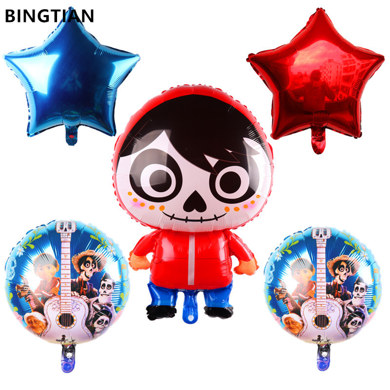 13Pcs Spiderman Balloons Happy Birthday Number Party Decor Supplies Foil Balloon