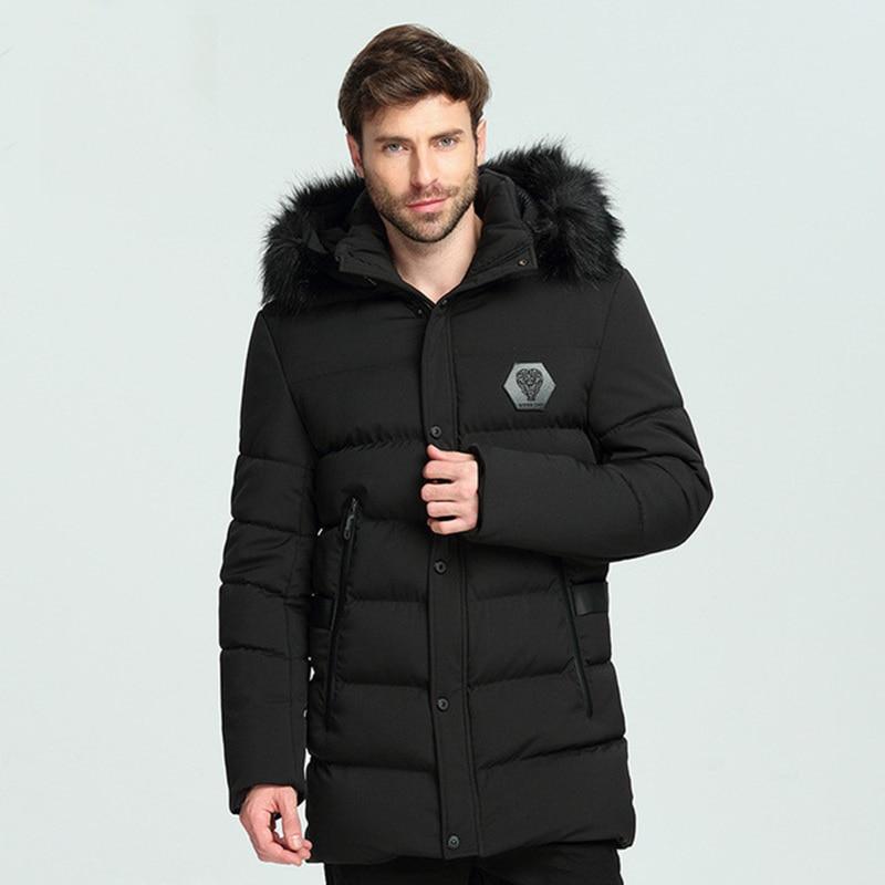 Chaud Lavé Hiver Fit Coton Manteaux Slim Hommes Outwear Laine Épaississement Luxe À Style Capuchon Vestes Marque De Haute Qualité Sw7Wdqw5