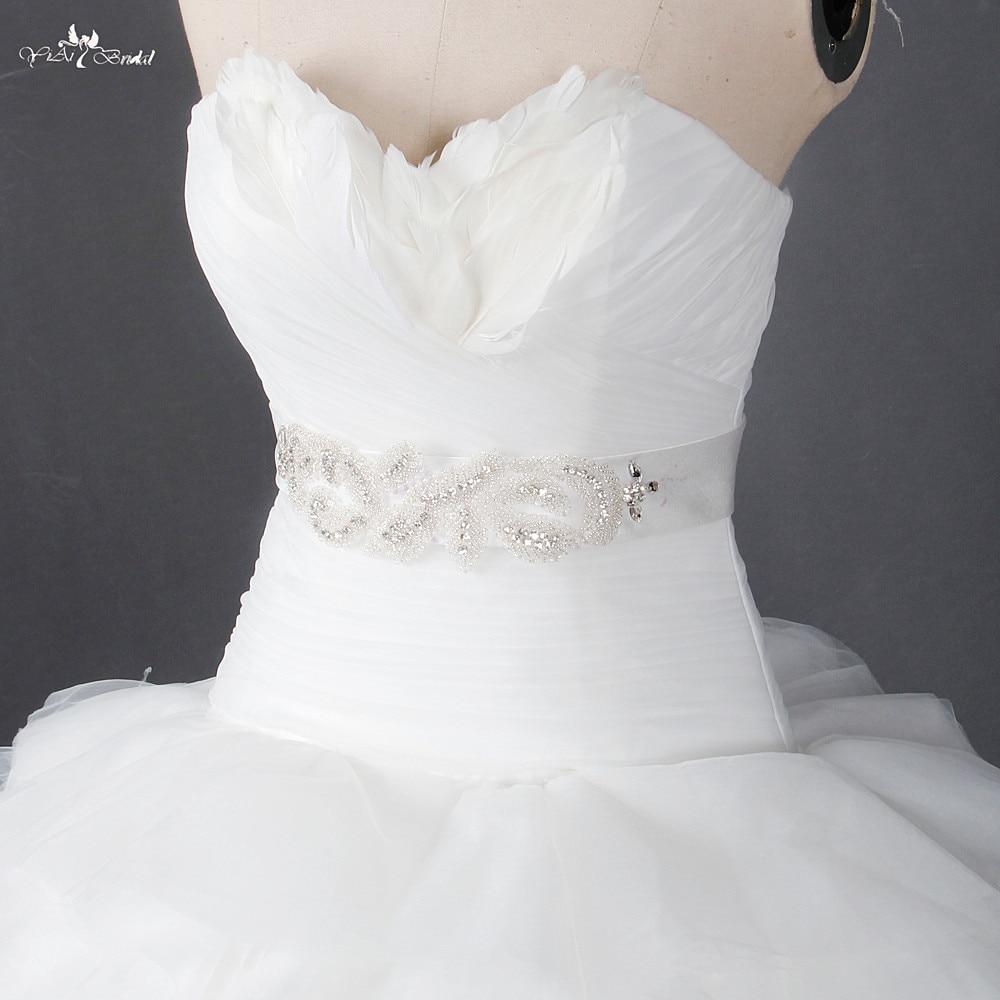 RSS7 Customized Sash Bridal Dress Belt