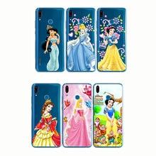 Castle Princess White Snow Prince Cartoon Phone Case Back Cover Silicone Soft for Y9 Y7 Y5 Pro Prime Y3