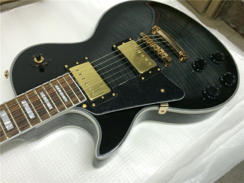 free shipping left hand electric guitar/black color electric guitar/guitarra/guitar in china human free shipping guitar electric guitar suitcase electric guitar hollow body guitar left hand