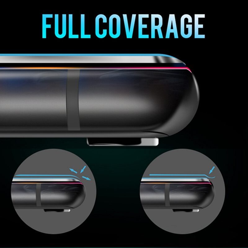 For iPhone XR XS Max Full Cover Tempered Glass Screen Protector for iPhone XS Max 11 Pro 5 6 6S 7 8 Plus X Safety Guard 9H Film