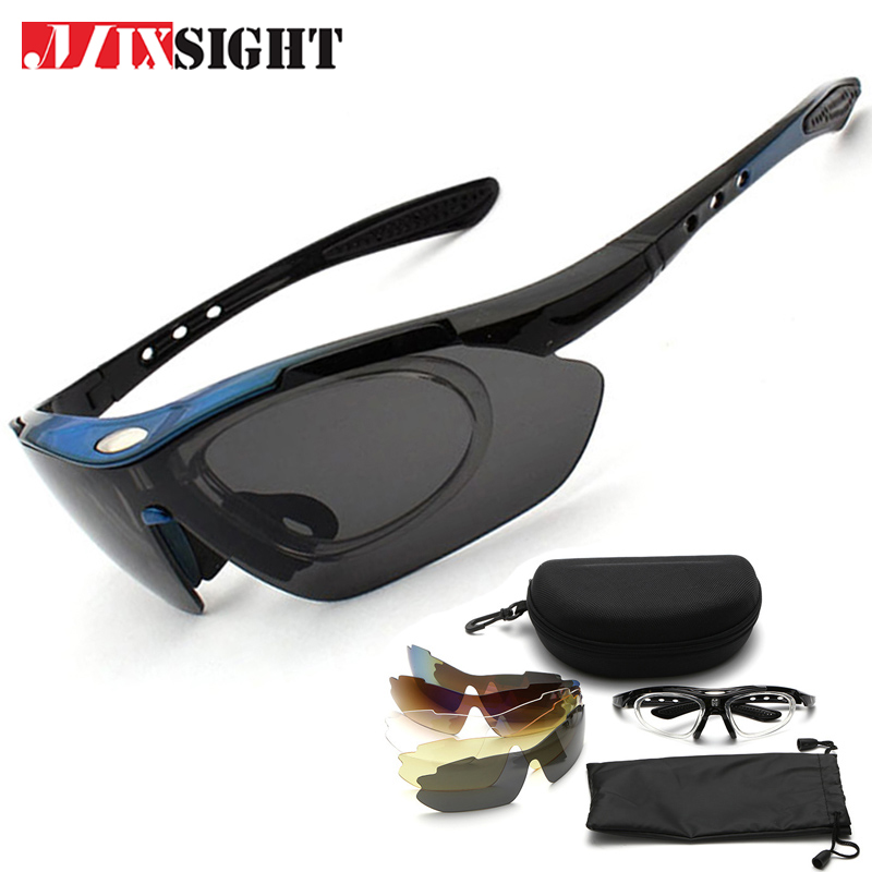 Polarized Sports Sunglasses Men Sun Glasses UV400 Protection Eyewear Night Vision Plus 5 Lens