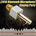 Q7 Bluetooth Динамик Беспроводной Микрофон с перемешиванием Карманный КТВ Домой К Песню Артефакт Shenmai Ручной КТВ Q7 Bluetooth Динамик