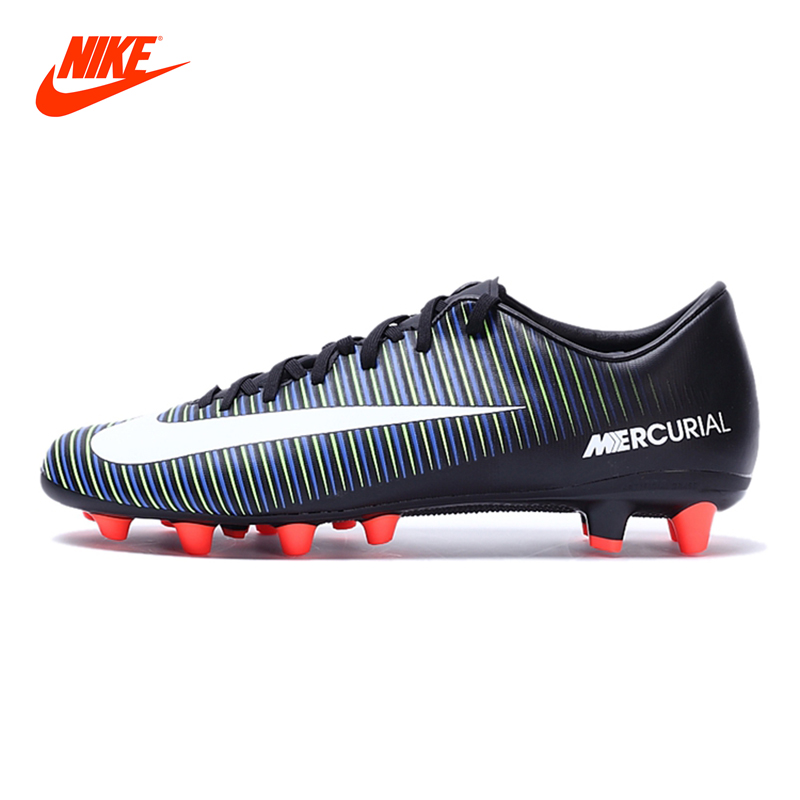 New Arrival NIKE MERCURIAL VICTORY VI AG-PRO Men's Light Comfortable Football Soccer Shoes Sneakers бутсы nike mercurial victory iii fg 509128 800