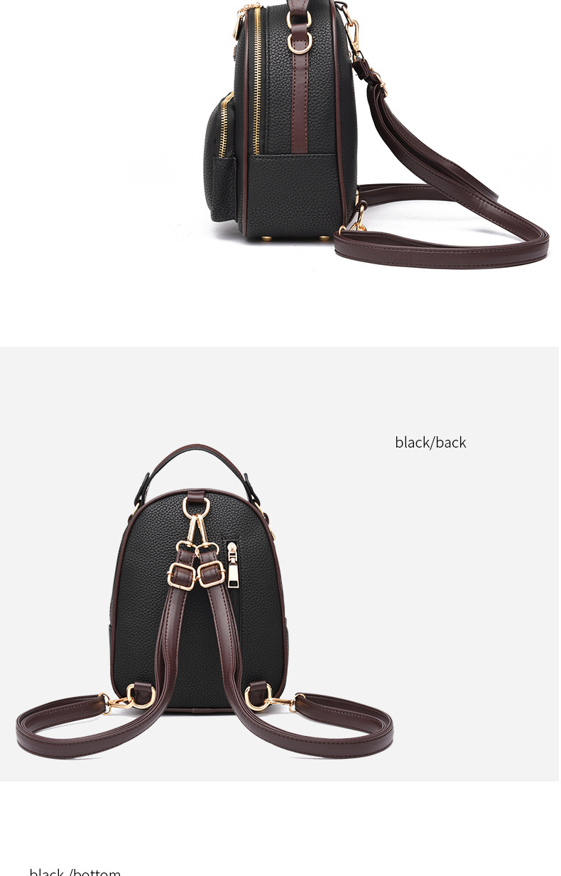 HTB1NmcltuuSBuNjy1Xcq6AYjFXaH Brand New Leather Small Women Backpacks Zipper Shoulder Bag Female Phone Bags Lady Portable Backpack for Girls Casual Style