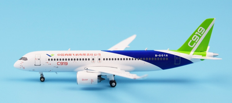 Special Price: SKYWINGS 083 China Commercial Aircraft Corporation of China LTD COMAC C919 B-001A 1: 400 airplane model new phoenix 11207 b777 300er pk gii 1 400 skyteam aviation indonesia commercial jetliners plane model hobby