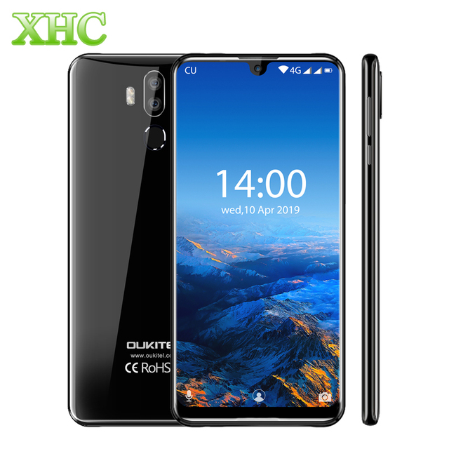 "OUKITEL K9 Waterdrop 7.12"" FHD+ Display 16MP Mobile Phone 4GB 64GB Face ID Smartphone 6000mAh 5V/6A Quick Charge OTG Dual SIM"