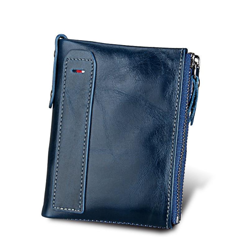 Hot!!! Echtes Leder Frauen Brieftasche Geldbörsen Geldbörse Weiblichen Kleine Portomonee Bifold Rfid Brieftasche Dame Geldbörse Für Mädchen Geld Tasche