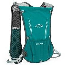 WorthWhile Outdoor Trail Running Backpack Men Women Ultralight Racing Marathon Hiking Water Bag Fitness Mobile Phone Holder