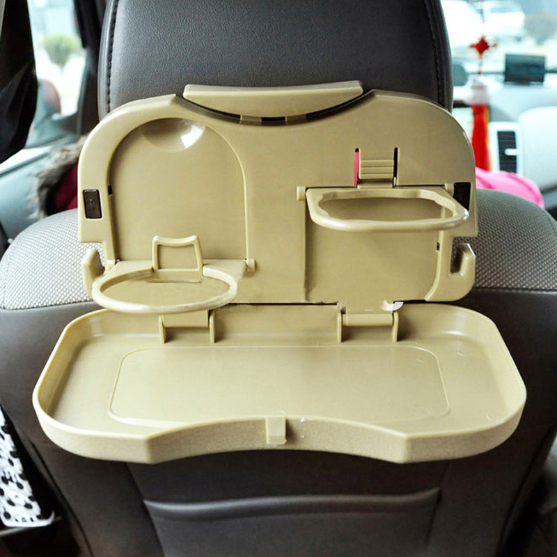 Image result for Dining Tray Multipurpose Car Portable Tray - Brown Colour