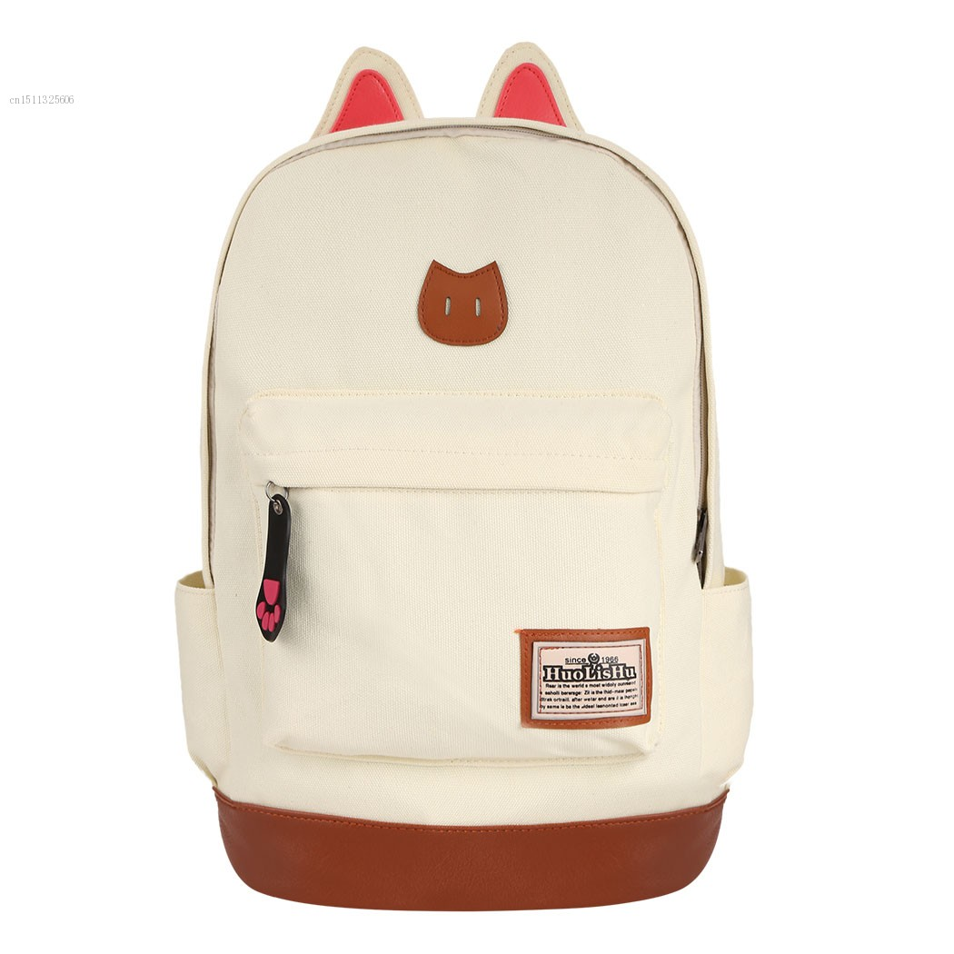 87b69accf6b Boys Girls Korean Style Stylish Cool Shoulder Bag Canvas Backpack School  Travel Rucksack-in Backpacks from Luggage   Bags on Aliexpress.com    Alibaba Group