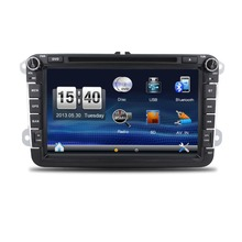New! 2din Car DVD GPS player for VW GOLF 5 Golf 6 POLO PASSAT CC JETTA TIGUAN TOURAN EOS SHARAN SCIROCCO TRANSPORTER T5 CADDY