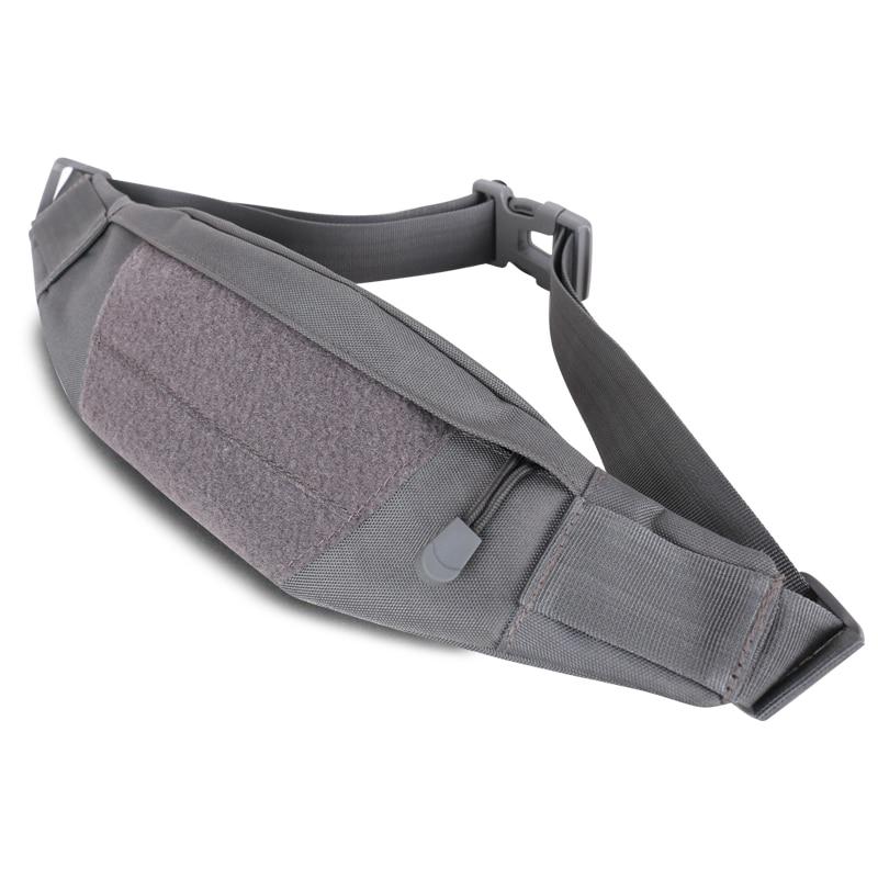 Men Women Outdoor Sport Running Bags Denim Waist Sport Camping Training Gym Bag Unisex Canvas Hunting Tactical Running Bag bolsa