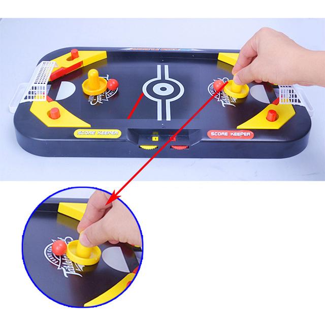 Desktop Battle 2 in 1 ice hockey game leisure mini hockey table children's educational interactive toys