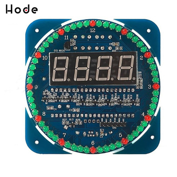цена на DS1302 Digital LED Display Module Alarm Electronic Digital Clock LED timer Temperature Display DIY Kit Learning Board