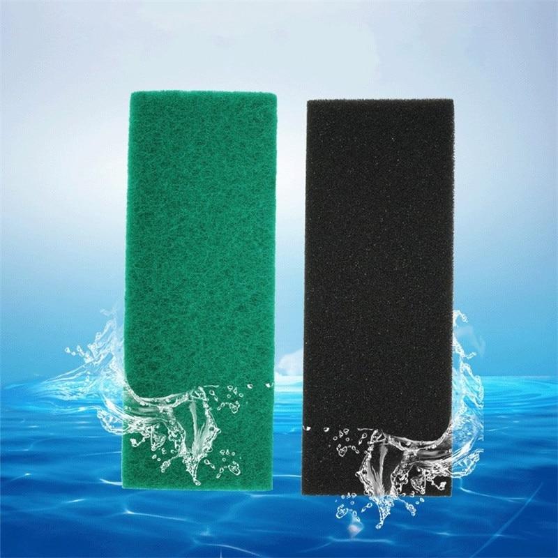 32 * 12 * 2 cm-es biokémiai pamutszűrő hab Bio szivacs az akvárium hal tartályaihoz Zajmentes funkcionális akvárium kiegészítők
