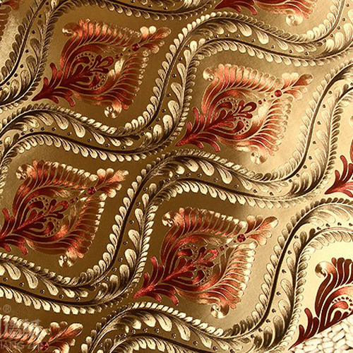 Online Buy Wholesale Gold Metallic Wallpaper From China