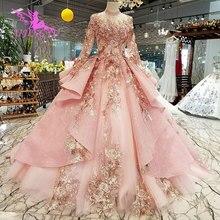 AIJINGYU Princess Ball Gown Wedding Dresses Open Back For Sale Big Size Silk Russian Vintages Plain Dress Cheap Bridal Gowns