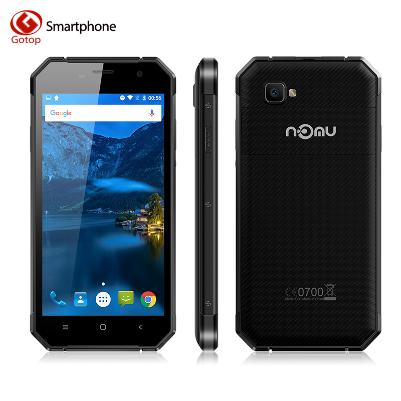 bilder für Original Nomu S30 5,5 Zoll Smartphone Android 6.0 MTK6755 Octa Core Handy 4 GB RAM 64 GB ROM 5000 mAh Wasserdichte Zelle telefon