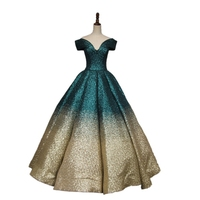 Princess Marie Antoinette Dress Sequins Gothic Victorian Dress Prom Gown Theater Women Clothing