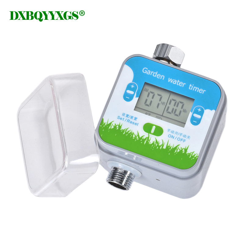LCD Garden Water Timer Digital Display Automatic Electronic Irrigation Controller System Home drip irrigation Watering timer